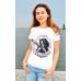 Мужская футболка White Santa Muerte