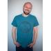 Мужская футболка Regata Club Turquoise